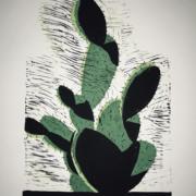 2018 30.40 cm Linoleumgrafia