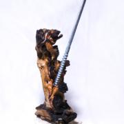 2352 15.15.25 cm Metallo, legno, pietra Reliquia estratta dal ciclo: I Dossier di N°44, Primo Androide Emotivamente Avanzato Tiratura 3pz