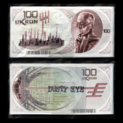2504 Mazzetta da 1000 Ukron, fascettata e siglata 165.80 mm Tiratura banconote: 10.000pz Tiratura mazzette: 100pz