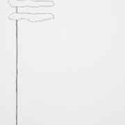 2017 50.80 cm Acrilico e carboncino su compensato